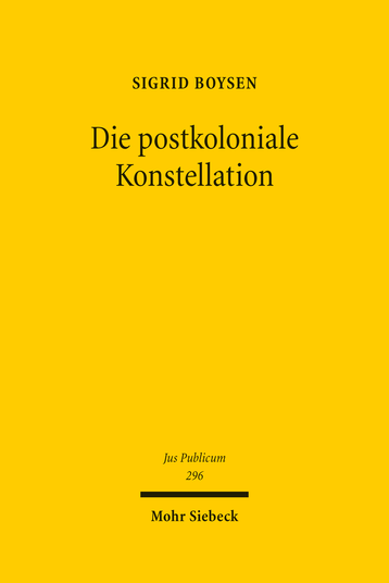 Die postkoloniale Konstellation