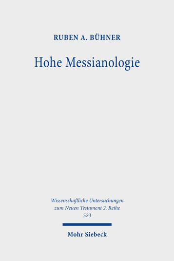 Hohe Messianologie