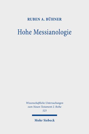 Hohe Messianologie