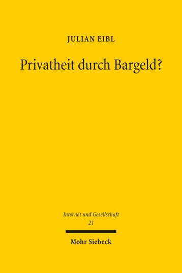 Privatheit durch Bargeld?
