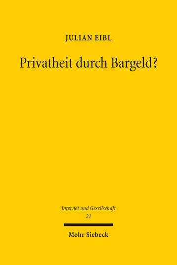 Privatheit durch Bargeld?