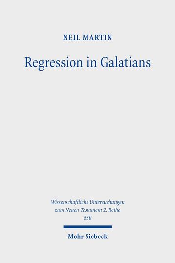 Regression in Galatians