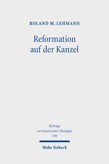 Reformation auf der Kanzel