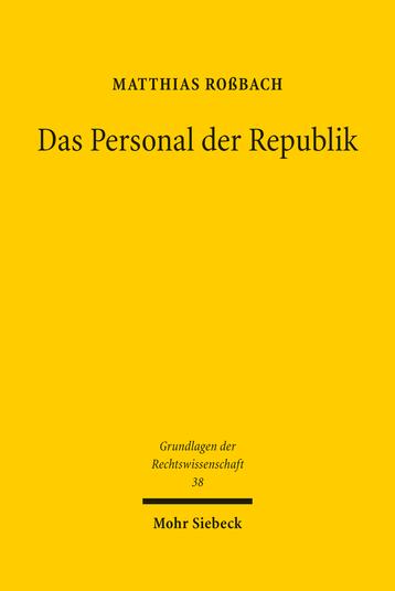 Das Personal der Republik