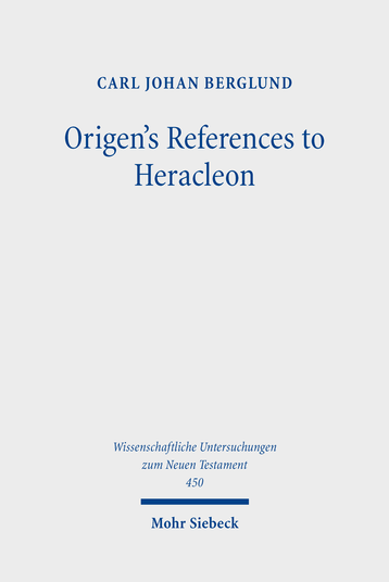 Origen's References to Heracleon