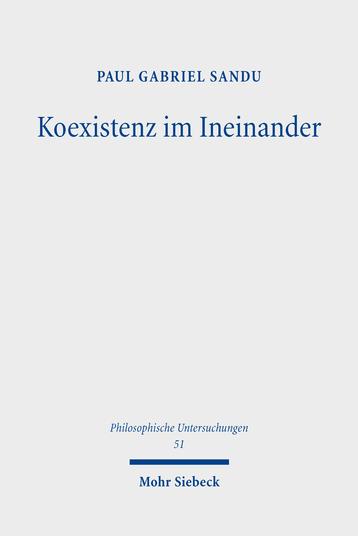 Koexistenz im Ineinander: Eine problemgeschichtliche Analyse der Fremdwahrnehmungstheorie und der Intersubjektivitätsproblematik im Denken Edmund Husserls Book Cover