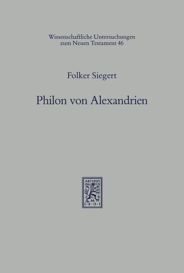 Philon von Alexandrien