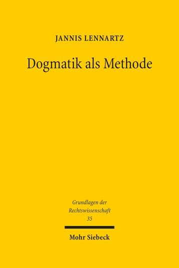 Dogmatik als Methode