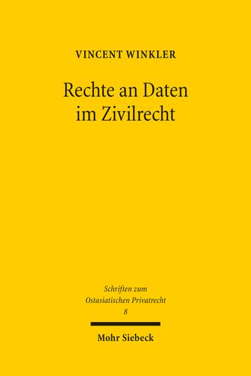 Rechte an Daten im Zivilrecht