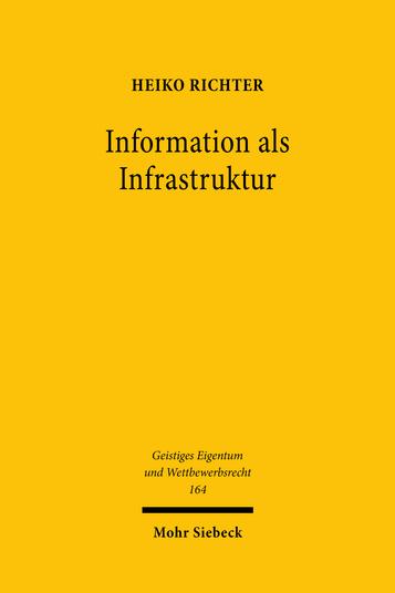 Information als Infrastruktur