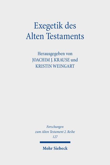 Exegetik des Alten Testaments