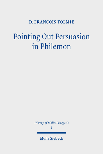 Pointing Out Persuasion in Philemon