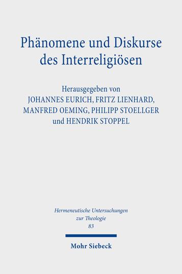 Phänomene und Diskurse des Interreligiösen