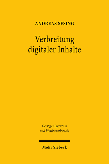 Verbreitung digitaler Inhalte