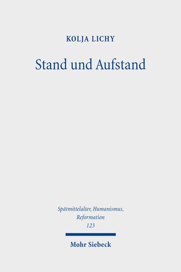 Stand und Aufstand