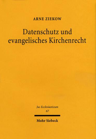 Datenschutz und evangelisches Kirchenrecht