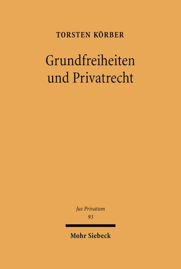 Grundfreiheiten und Privatrecht