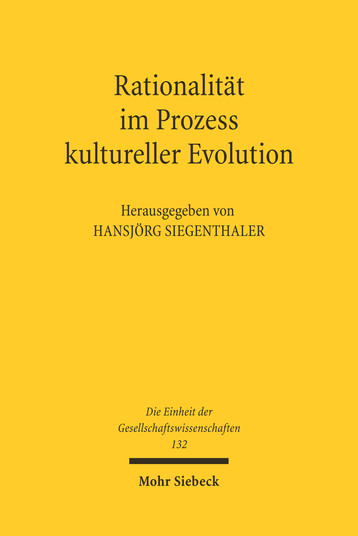 Rationalität im Prozess kultureller Evolution