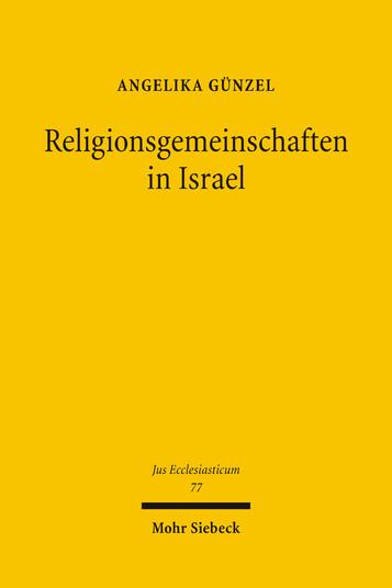 Religionsgemeinschaften in Israel