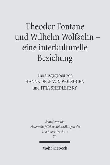 Theodor Fontane und Wilhelm Wolfsohn – eine interkulturelle Beziehung