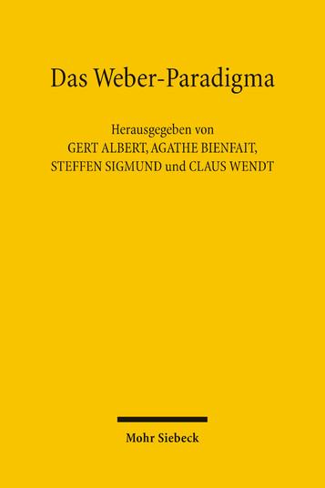 Das Weber-Paradigma