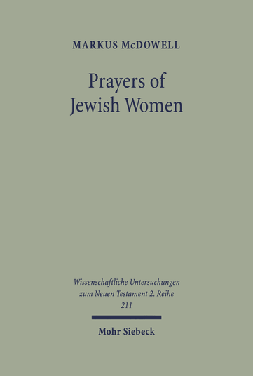 Prayers of Jewish Women