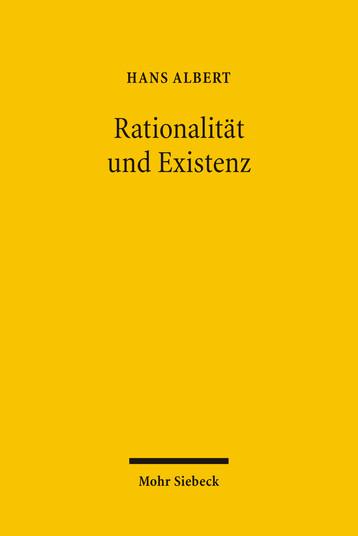 Rationalität und Existenz