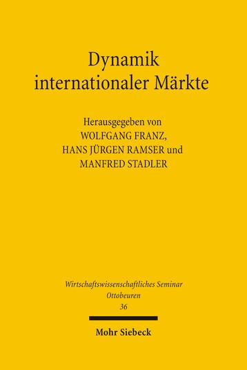 Dynamik internationaler Märkte