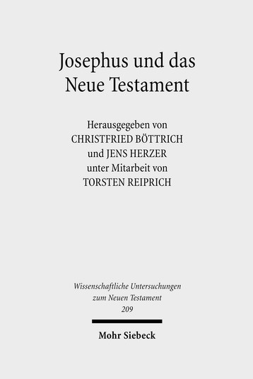Josephus und das Neue Testament