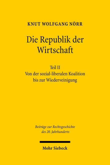 Die Republik der Wirtschaft