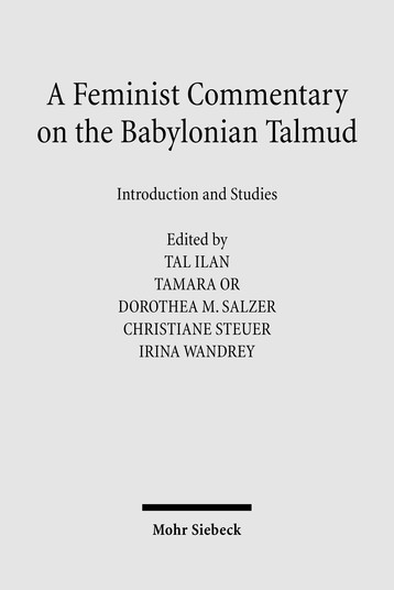 A Feminist Commentary on the Babylonian Talmud