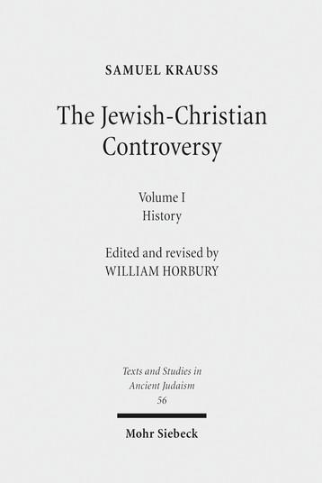The Jewish-Christian Controversy