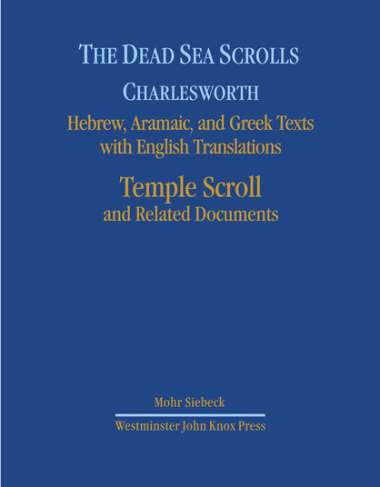 The Dead Sea Scrolls. Hebrew, Aramaic, and Greek Texts with English Translations