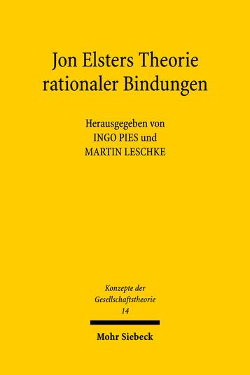 Jon Elsters Theorie rationaler Bindungen