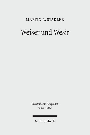 Weiser und Wesir