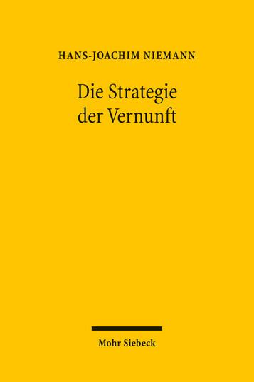 Die Strategie der Vernunft