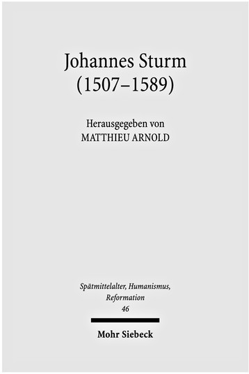 Johannes Sturm (1507–1589)