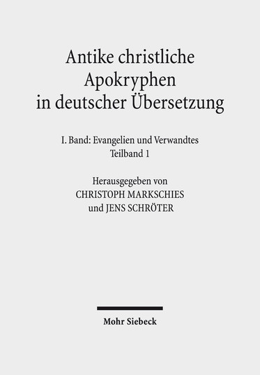 Antike christliche Apokryphen in deutscher Übersetzung