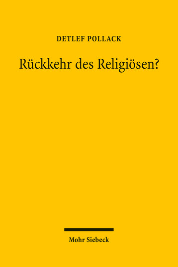 Rückkehr des Religiösen?