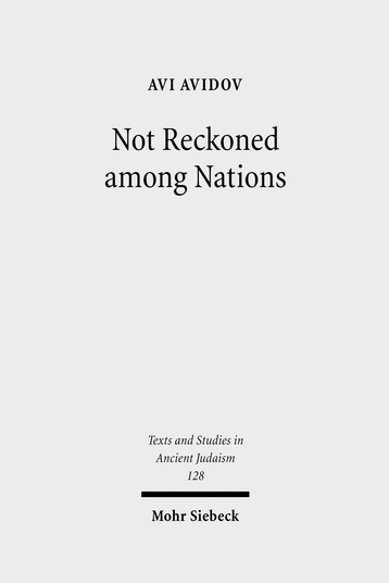 Not Reckoned among Nations