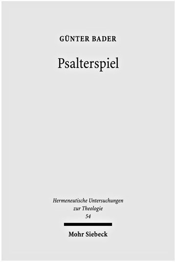 Psalterspiel