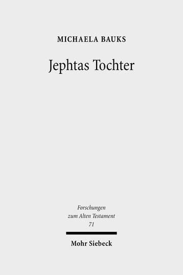 Jephtas Tochter
