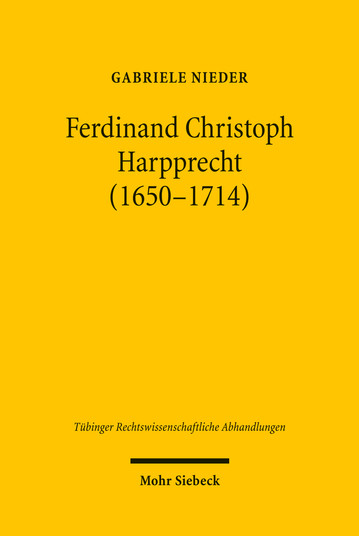 Ferdinand Christoph Harpprecht (1650–1714)