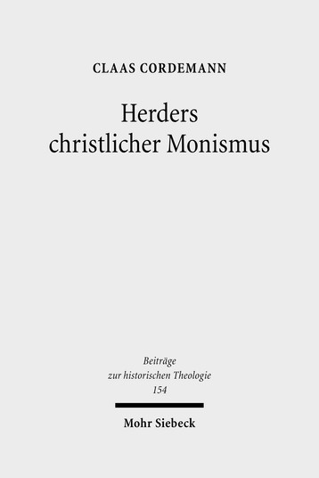 Herders christlicher Monismus