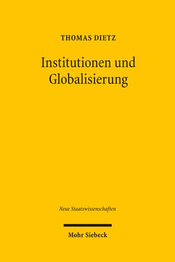 Institutionen und Globalisierung