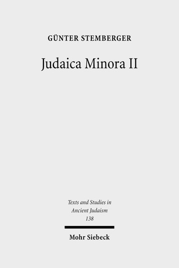 Judaica Minora