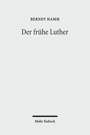 Der frühe Luther