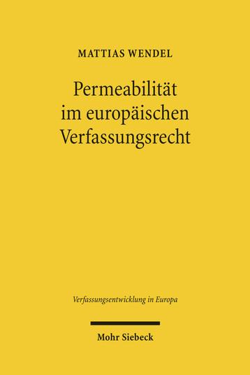 Permeabilität im europäischen Verfassungsrecht