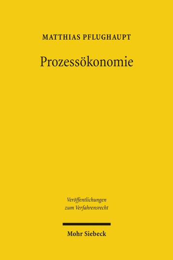 Prozessökonomie