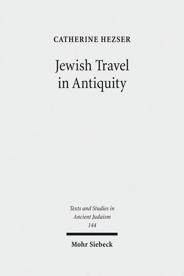 Jewish Travel in Antiquity